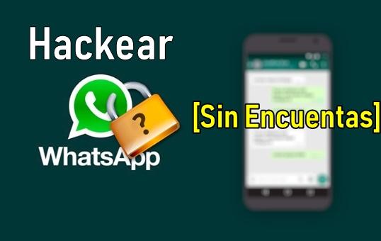 como hackear whatsapp desde la pc gratis